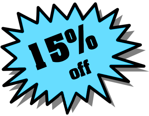 15% off all our web hosting plans